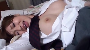 Attempt fun staring at beautiful Oriental chick getting banged sexy